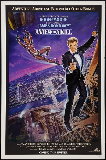 A View To A Kill United Artists 1985 One Sheet 27 X 41