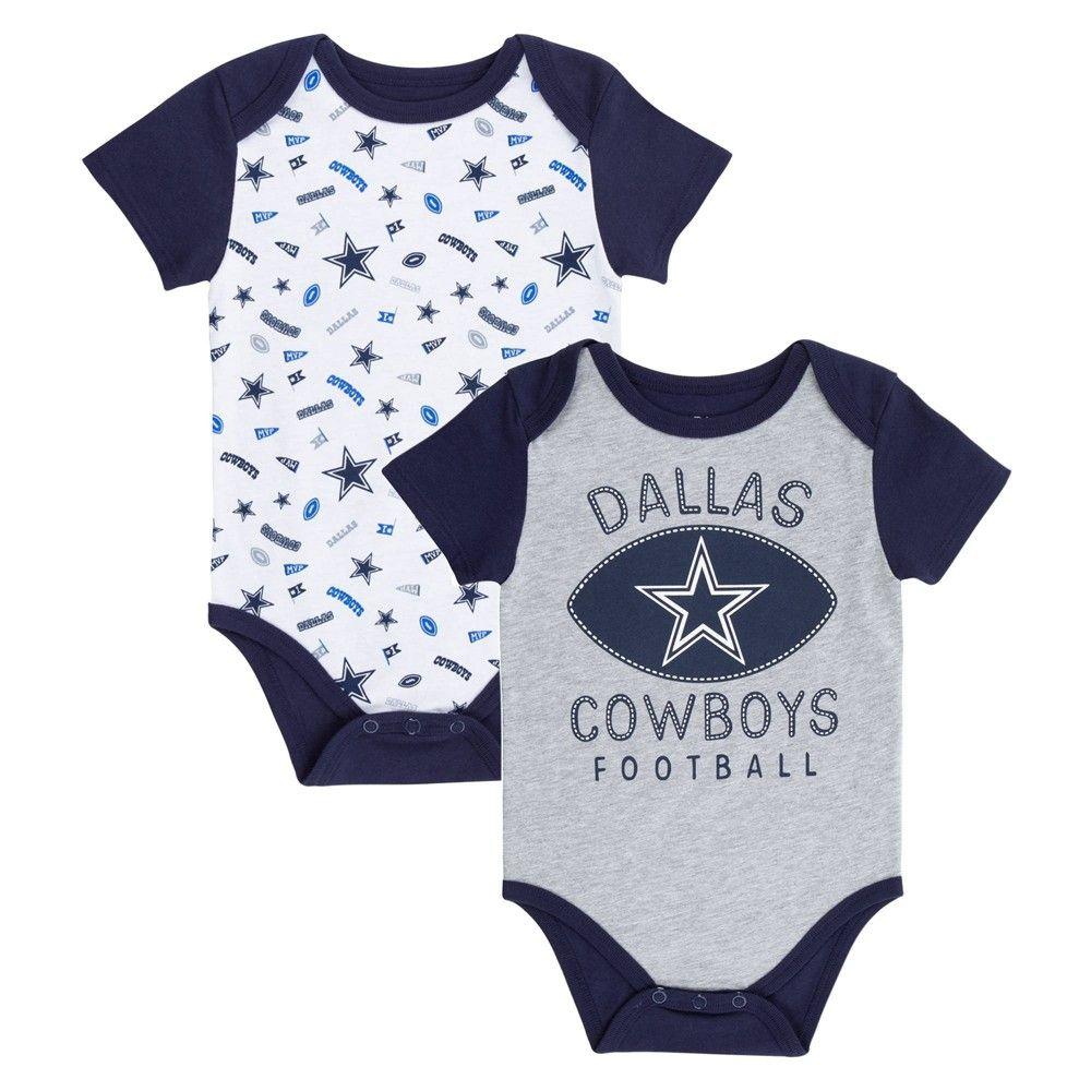 Football Dallas-cowboys-logo Newborn Infant Baby Onesies Bodysuit