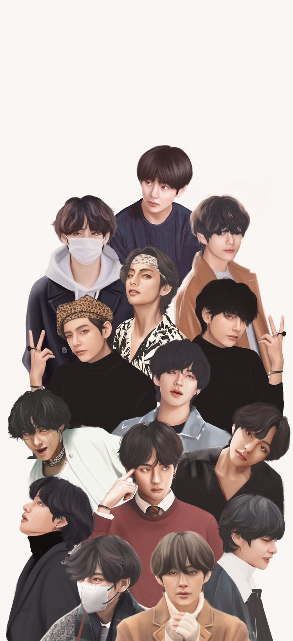 Pin By Brave R On Bts Taehyung Fanart Bts Drawings Bts Fanart
