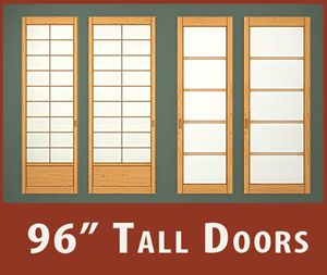 96 Inch Sliding Doors And Shoji For Your Closets
