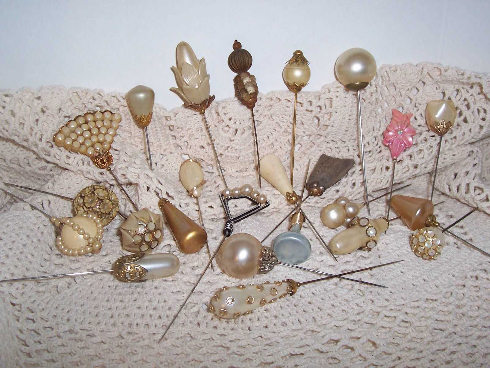 hat pins - Google Search