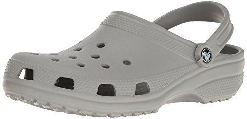 Crocband, Sabots Mixte Adulte, Gris (Light Grey/Navy), 37-38 EUCrocs