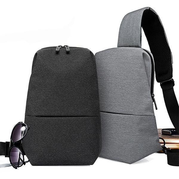 3cf3a2293a7 Sale 30% (22.99$) - KAKA® Men Leisure Chest Bag Multi-function Fashion Shoulder  Bag Multi-Purpose Crossbody Bag