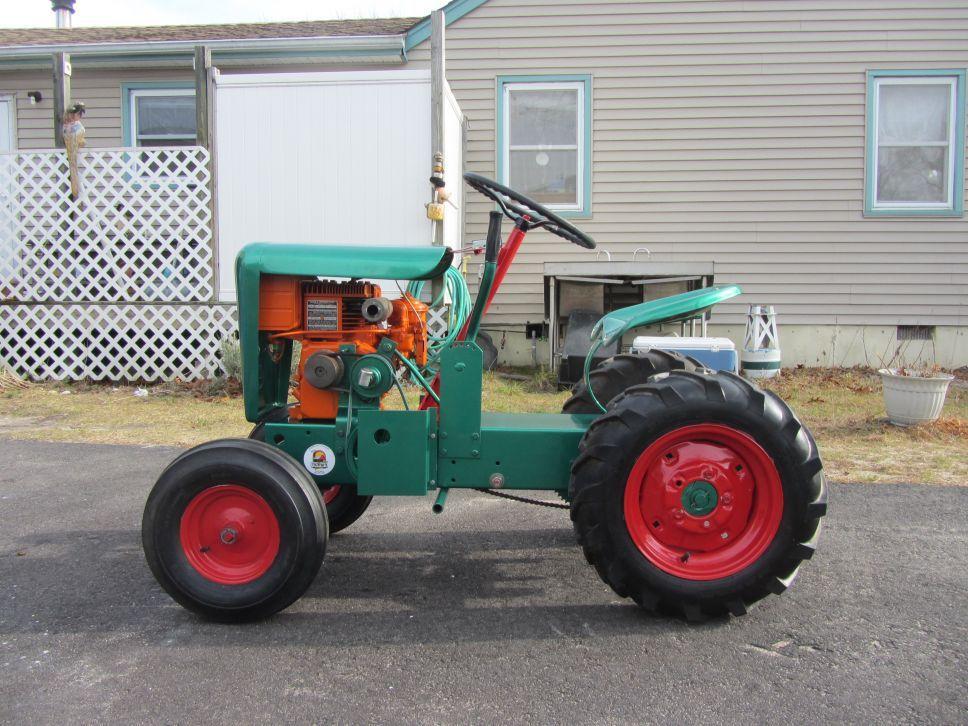 1962 Gemco Big Boy Garden Tractor Talk Tractors, Small