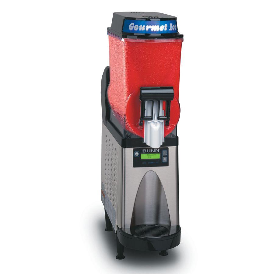 Bunn Ultra 1 Slushy Granita Frozen Drink Machine Black Drinks Machine Frozen Drinks Slush Machine