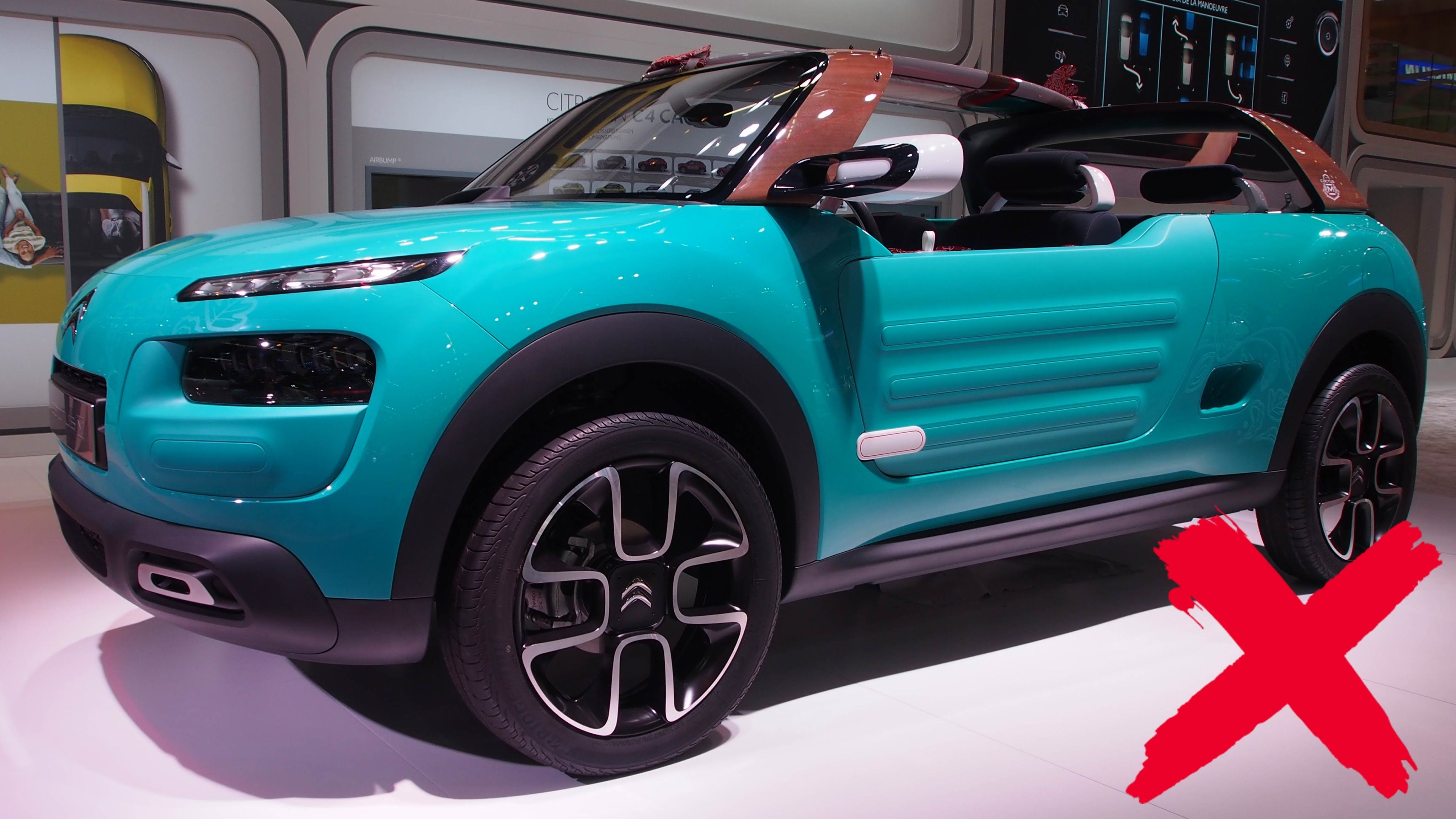 2016 Citroen Cactus M Concept -  Exterior and Interior Walkaround