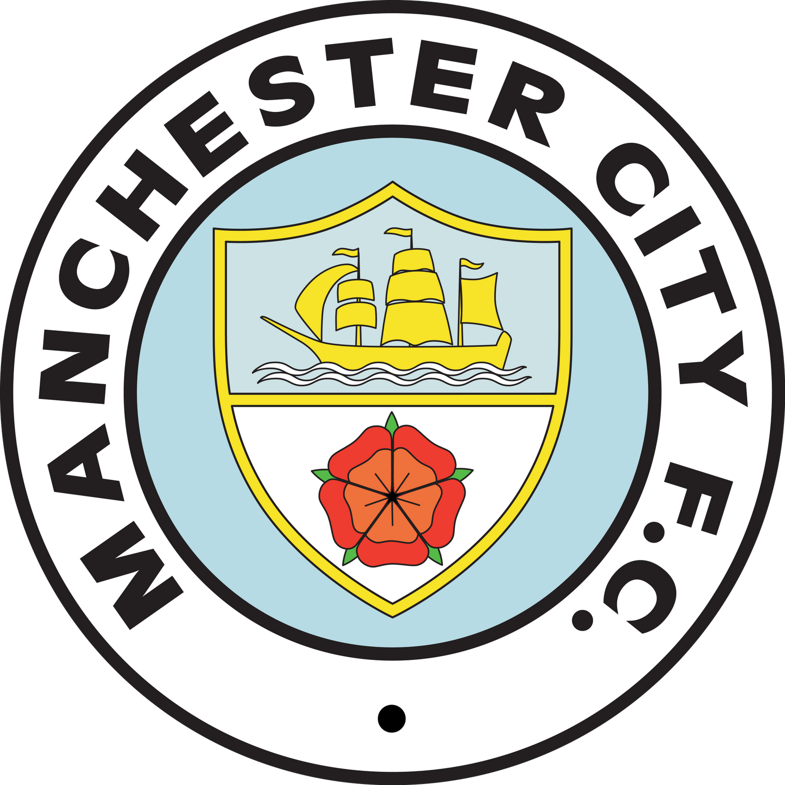 Manchester City Football Club Country England United Kingdom Pais Inglaterra Reino Unido F Man City Badge Manchester City Football Club Football Logo