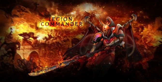 dota 2 wiki hero info legion commander the tresdin info