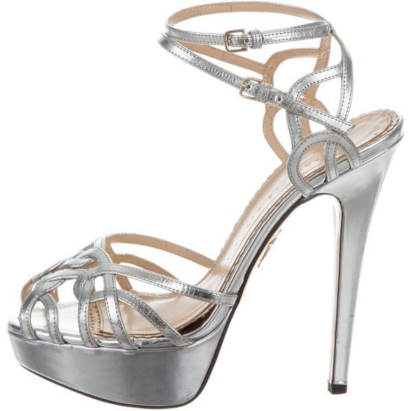 Pre-owned - Leather sandal Charlotte Olympia l7MVr