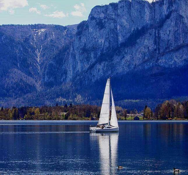 Lake Mondsee Austria