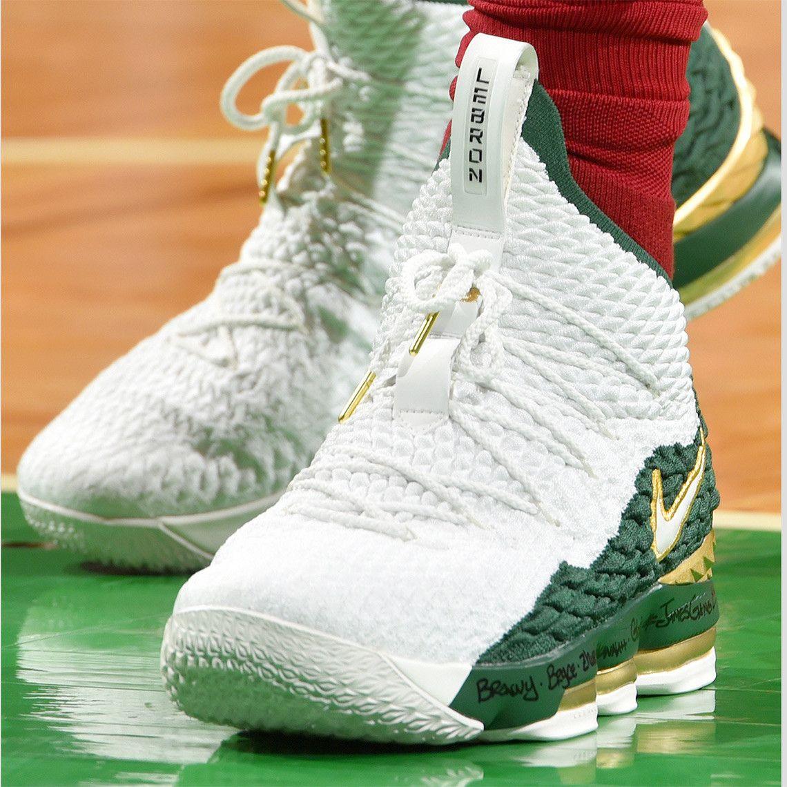 super popular f1a8c 11160 Nike LeBron 15 SVSM PE | Custom | Nike lebron, Nike, Lebron ...