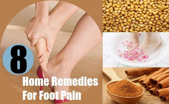 8 Home Remedies For Foot Pain