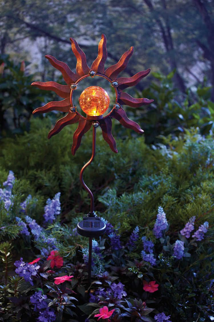 Solar Powered Decorative Ideas To Light Up Your Yard With Images