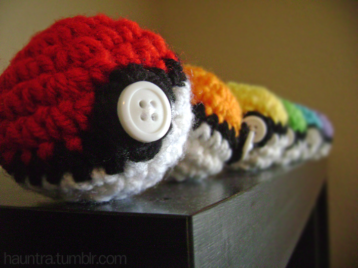 Pokeball Crochet By Hauntingly On Deviantart Crochet Inspiration