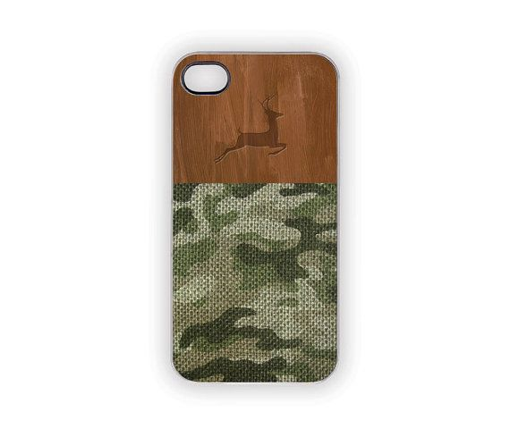 Camouflage Deer Hunter iPhone Case Forest Green by Inspireuart, #camouflage #deerhunting #hunting #deer #iPhonecase #fall #autumn #green #wood #woodland