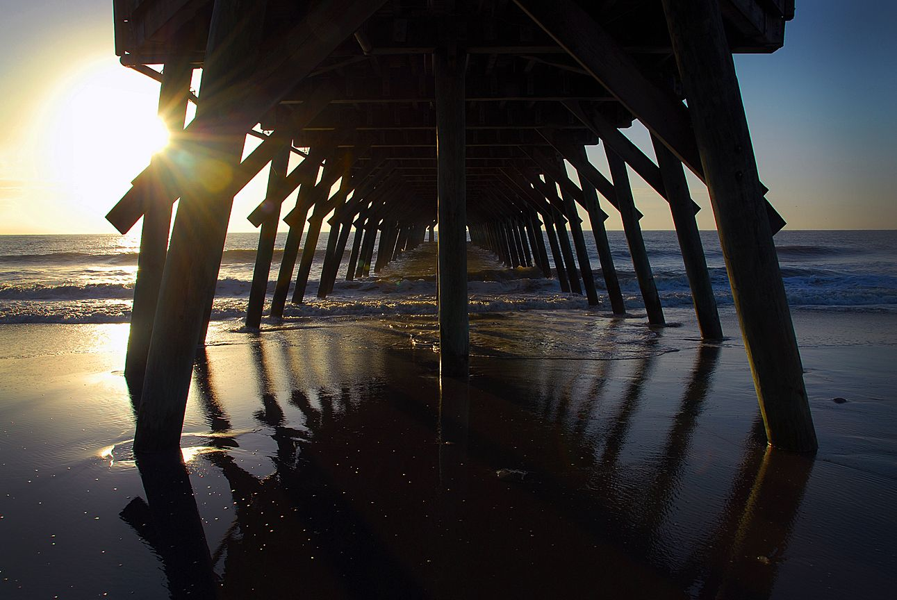 Myrtle Beach State Park Pier (With images) Myrtle beach
