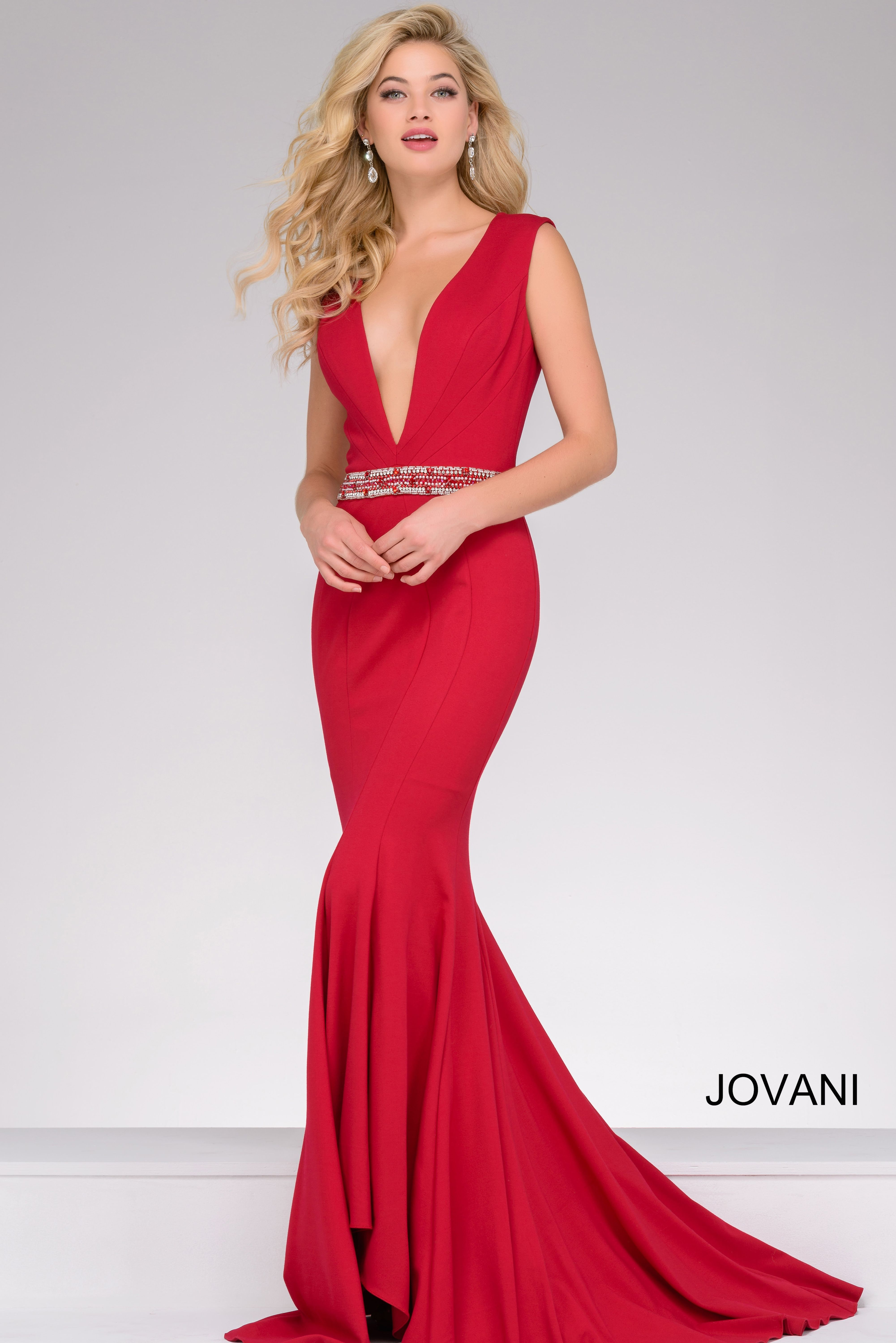 Ruby Red jovani style 40309 available at WhatchamaCallit #Boutique ...