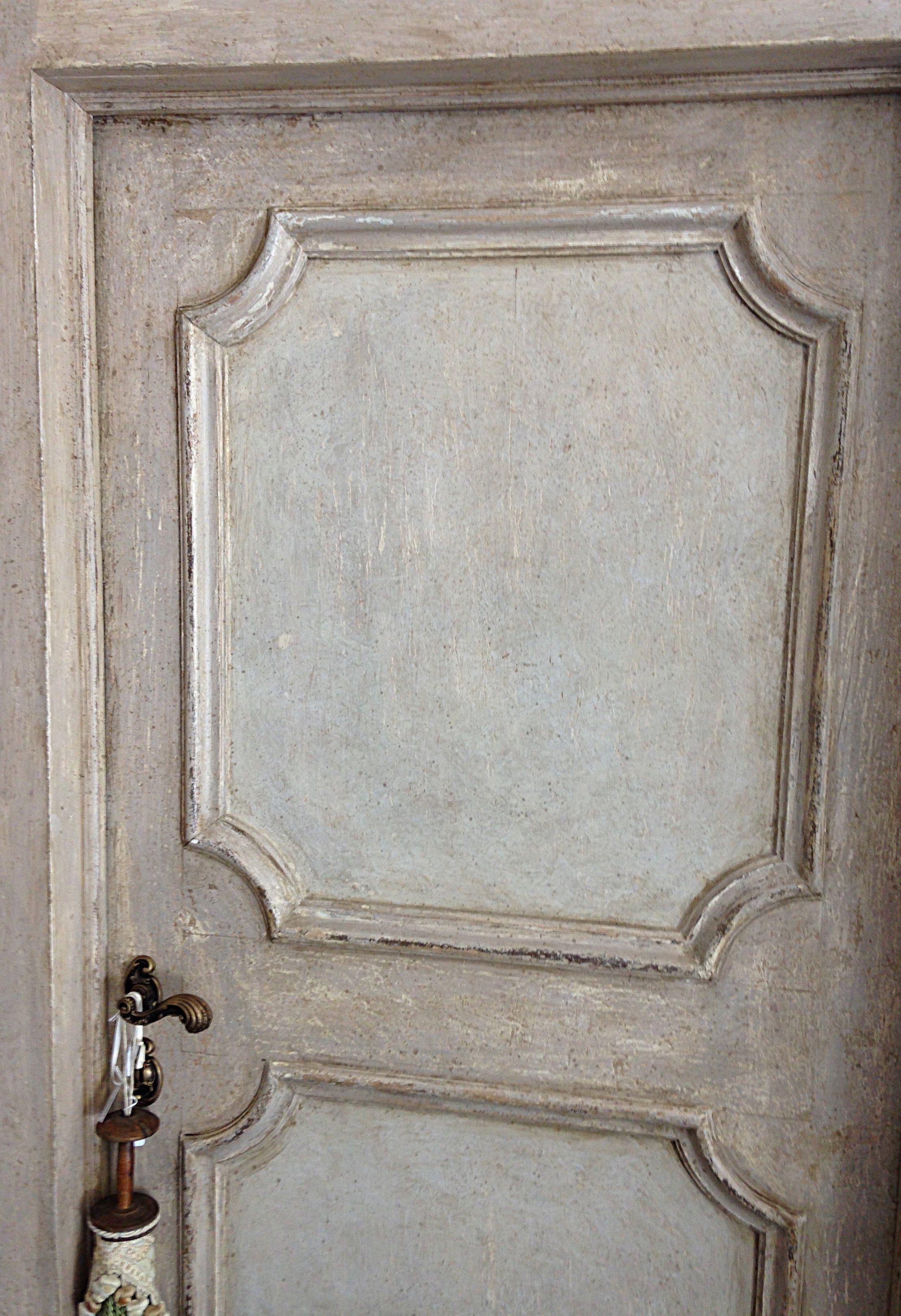 Porte Antiche A Due Ante.Riproduzione Di Una Porta Della Seconda Meta Del 600 Realizzata In