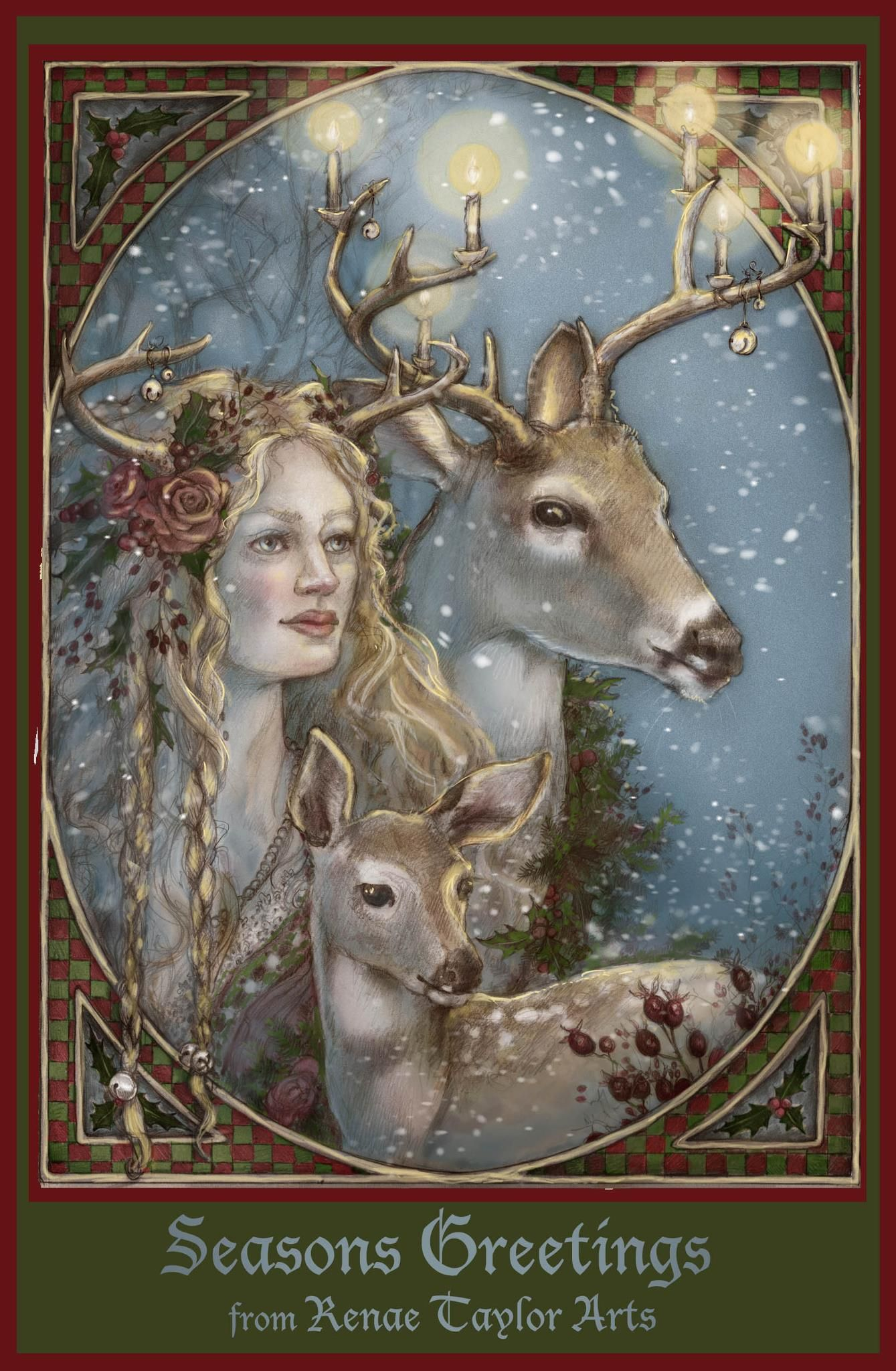 Blessed Yule Paganism Pinterest Yule Winter Solstice And Winter