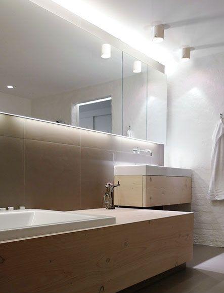 Badrum badrum belysning : för Tak Nordlux IP S4, Vit