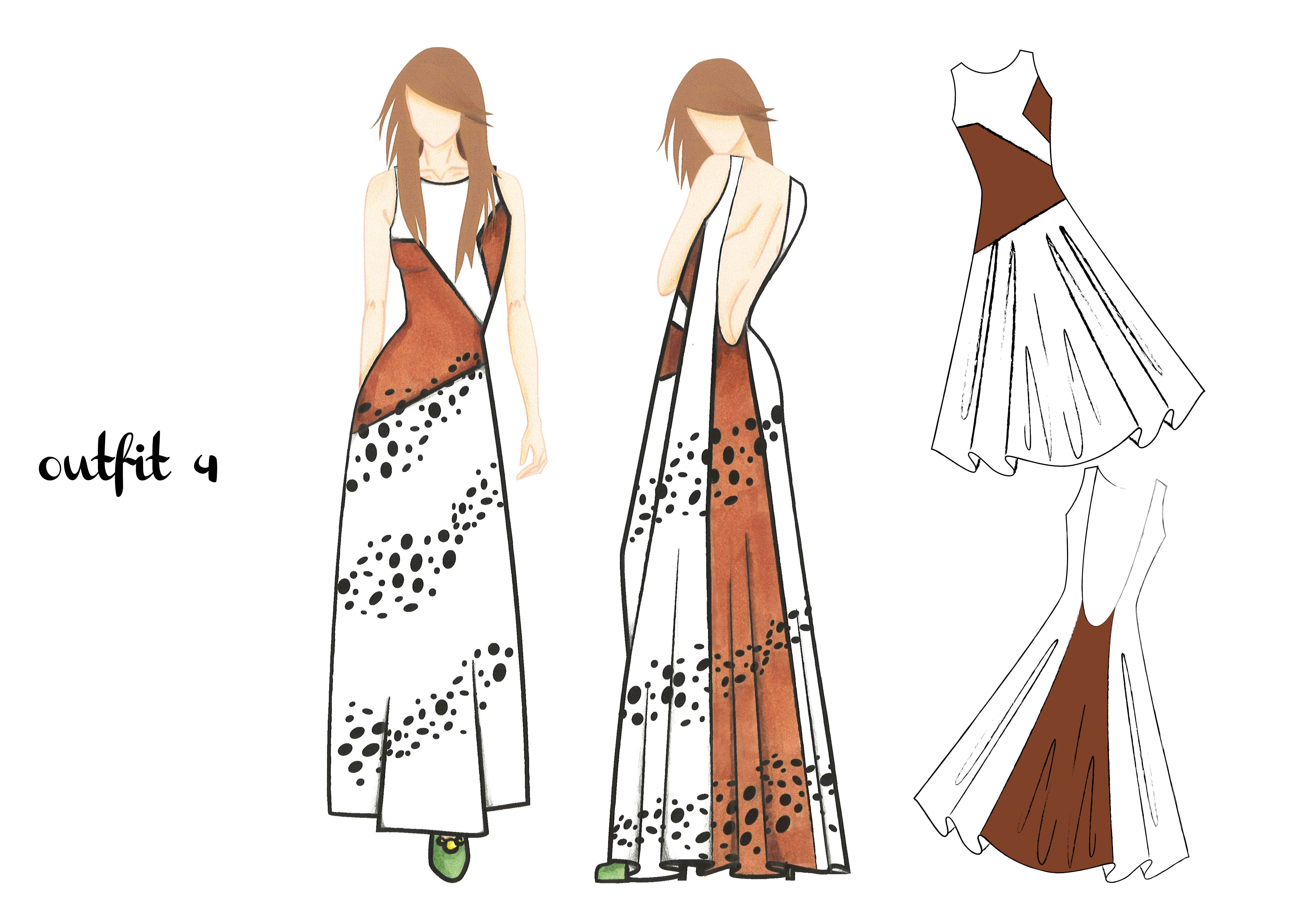outfit 4 | design by Martina Picotti #fashion #illustration