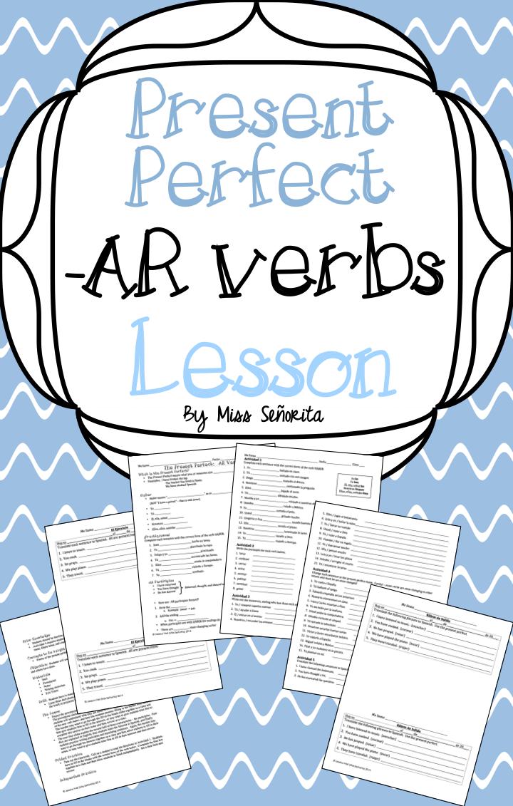 present perfect lesson plan pdf