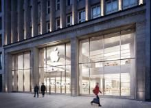 An Apple store in the picture opens in Hamburg soon in Cologne.  Photo: Apple.