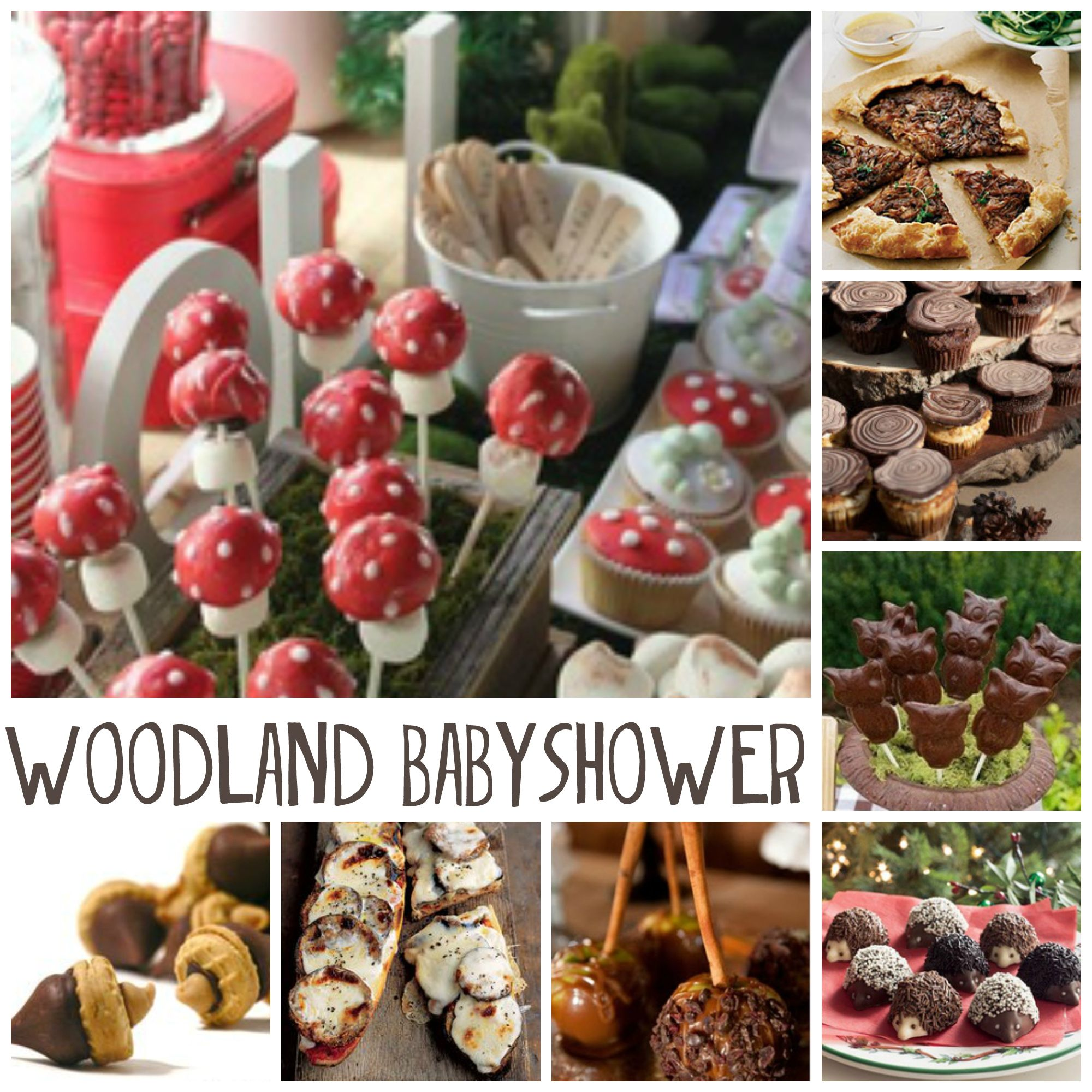 Woodland Babyshower: My PINspiration   Homegrown In The Valley