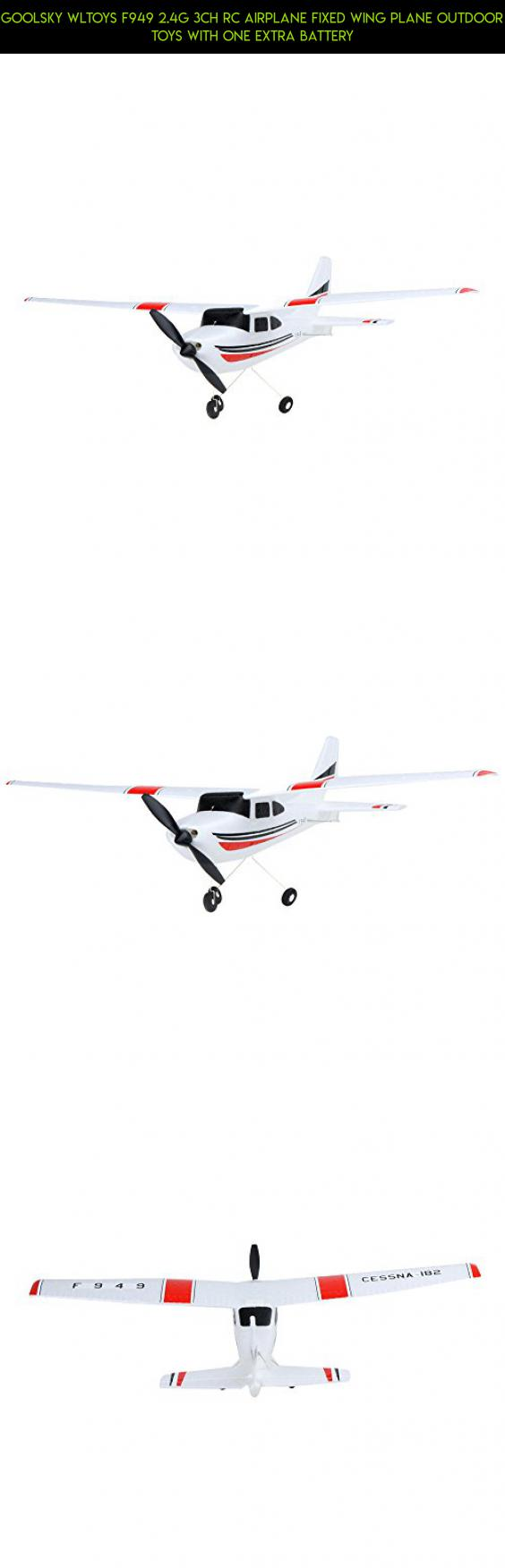Airplanes & Jets Hobbies Goolsky Wltoys F949 2.4G 3CH RC Airplane ...