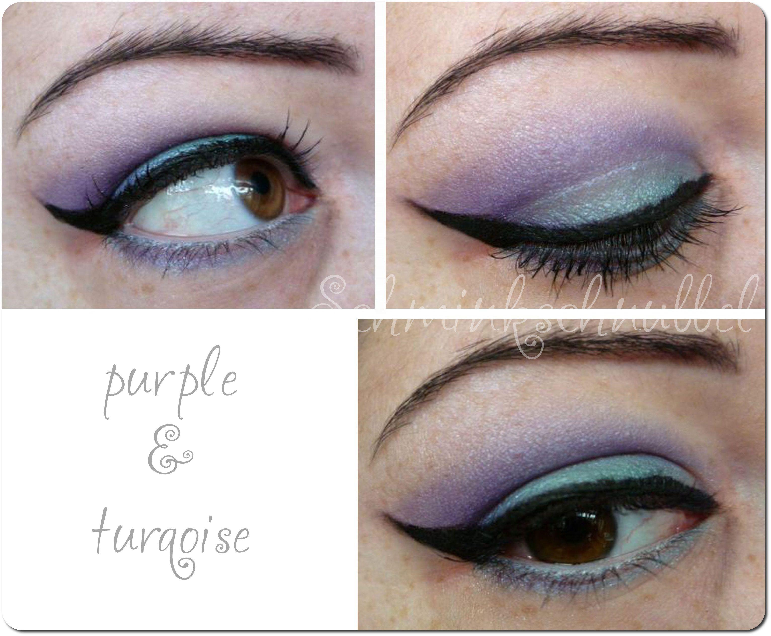 Purple & Turqoise