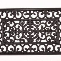 Brand Kempf Mpn 1682 Upc 743946168242 Kempf Rubber Scroll Doormat Rectangular Attractively Designed Doormat Bring Door Mat Outdoor Door Mat Import Decor