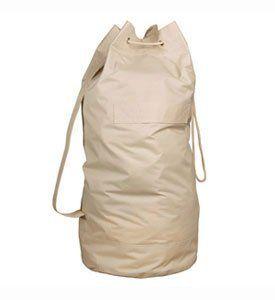 Richards Homewares Heavy Duty Laundry Bag Khaki By Richards
