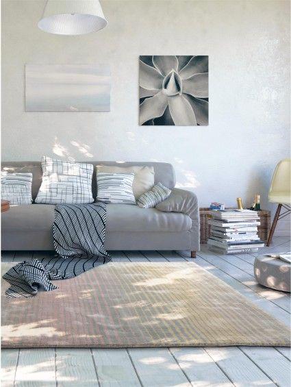 Teppich Moire Viscose Rosa Moderne Teppiche Pinterest Benuta