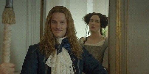 The amazing Evan Williams as Chevalier de Lorraine & Alexander Vlahos as Monsieur Philippe Duc D'Orleans in Versailles
