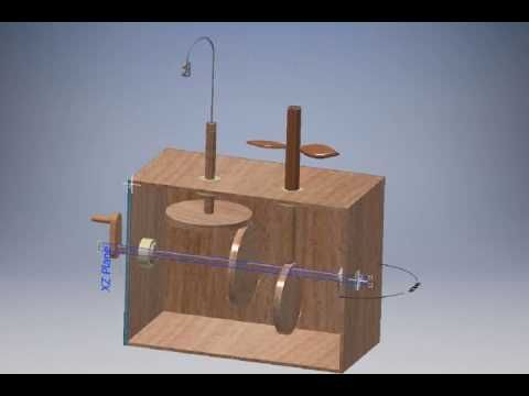 Virtual Design Challenge - Automata - Mechanism Concept - YouTube