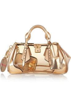 Find this Pin and more on My Purse-n-ality by shlmes87. Burberry Prorsum  The Blaze PVC bag ... c99af19030fb1