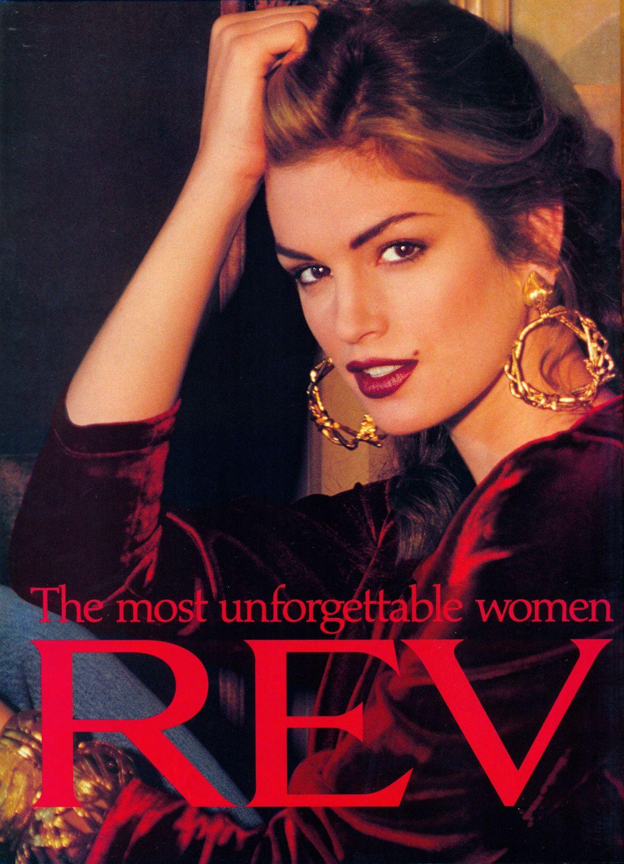 Cindy for Revlon, 1992 Cindy crawford, Supermodels