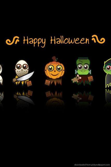 Happy Halloween Hd Wallpaper Iphone 6 Plus 5 5c Ipad 2 Halloween