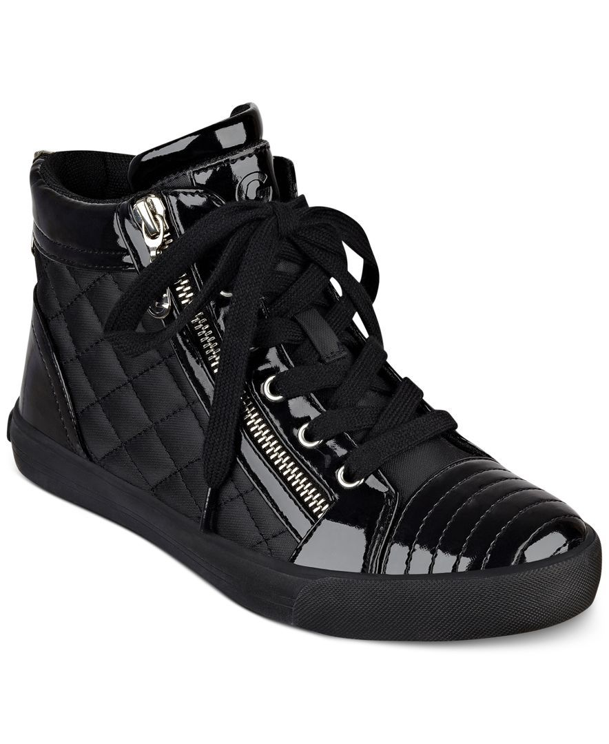 0cfe6e71518 G by Guess Orily Quilted High-Top Sneakers | Zapatos Deportivos ...