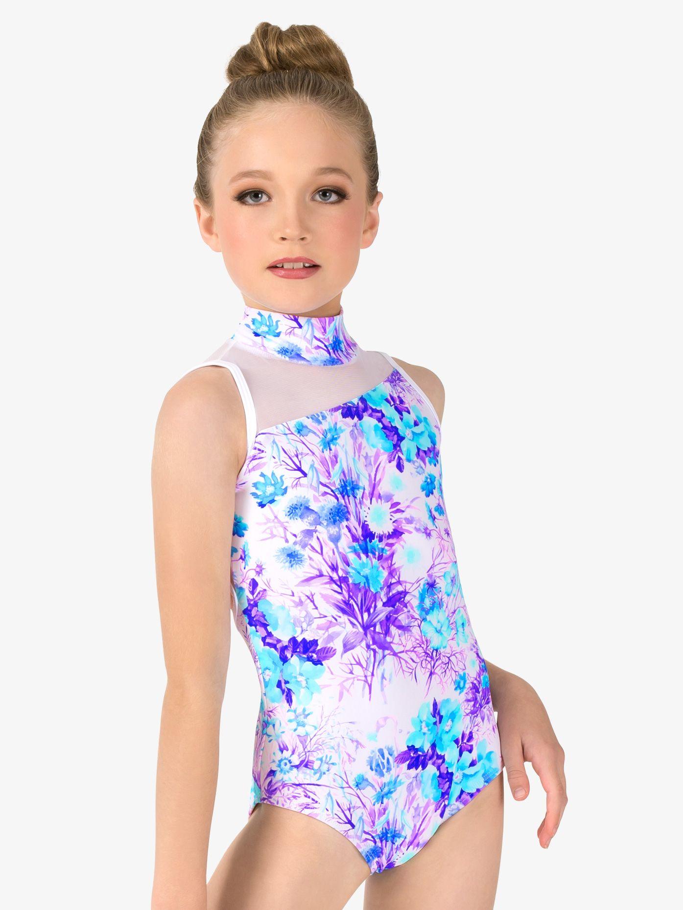 Child Girls Ballet Gymnastics Dance Leotard Full Body Unitards Dancewear Costume