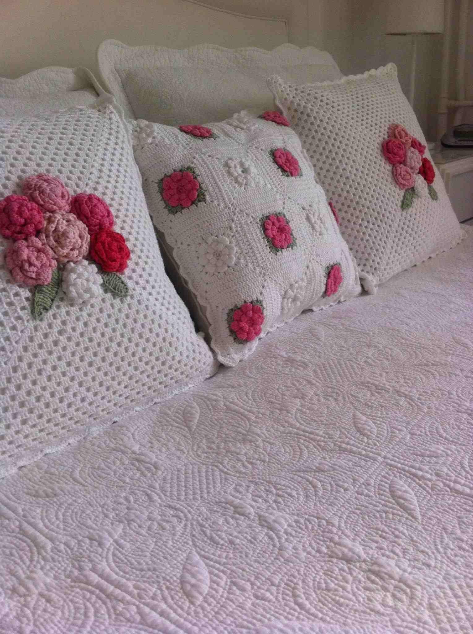 Crochet Pillow Cover Pinterest crochet cushion covers in