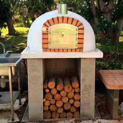 Authentic Pizza Ovens Lisboa Brick Wood Fire Oven Apolis Pizza Oven Wood Fired Oven Pizza Oven Outdoor