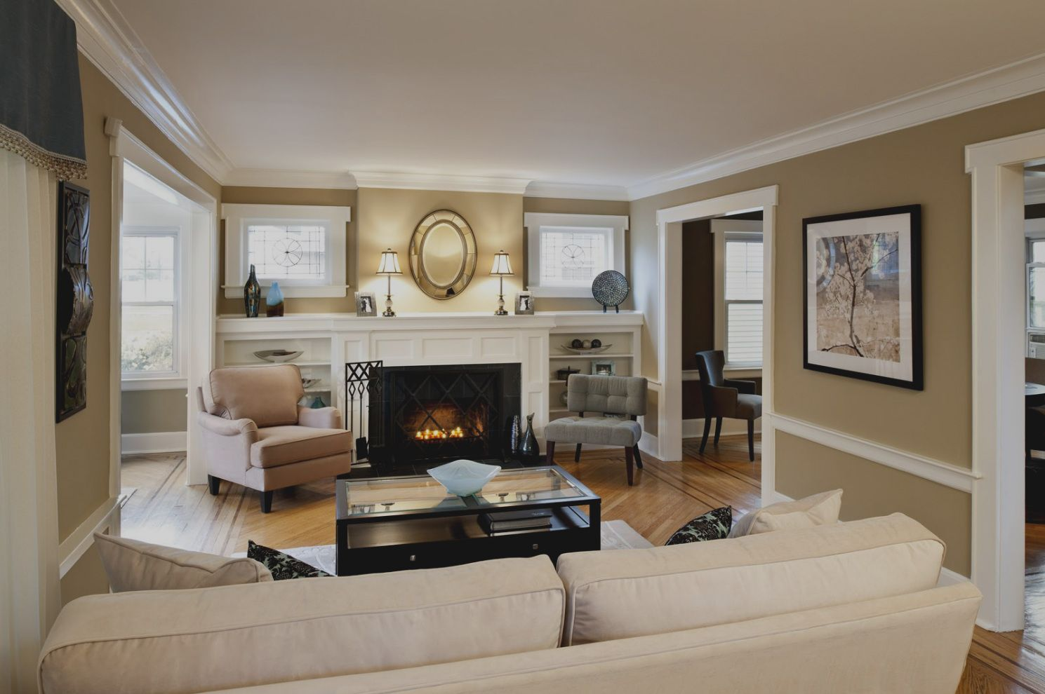 Wohnzimmer Gestalten Mit Farbe, wohnzimmer gestalten farben | wohnzimmer wandgestaltung streichen, Design ideen