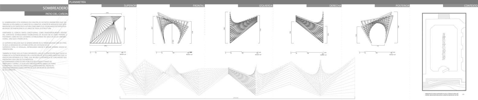 Galería de Experiencia de construcción en madera en Valparaíso: estructuras estables de doble curvatura a partir de la línea recta - 26