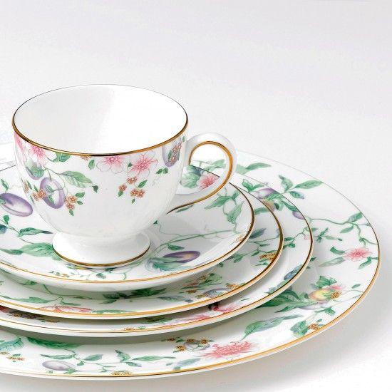 Sweet Plum Teacup In 2020 Tableware Wedgwood Dinnerware
