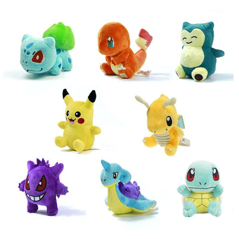 8 Pok/émon Bulbasaur Plush Stuffed Animal Toy