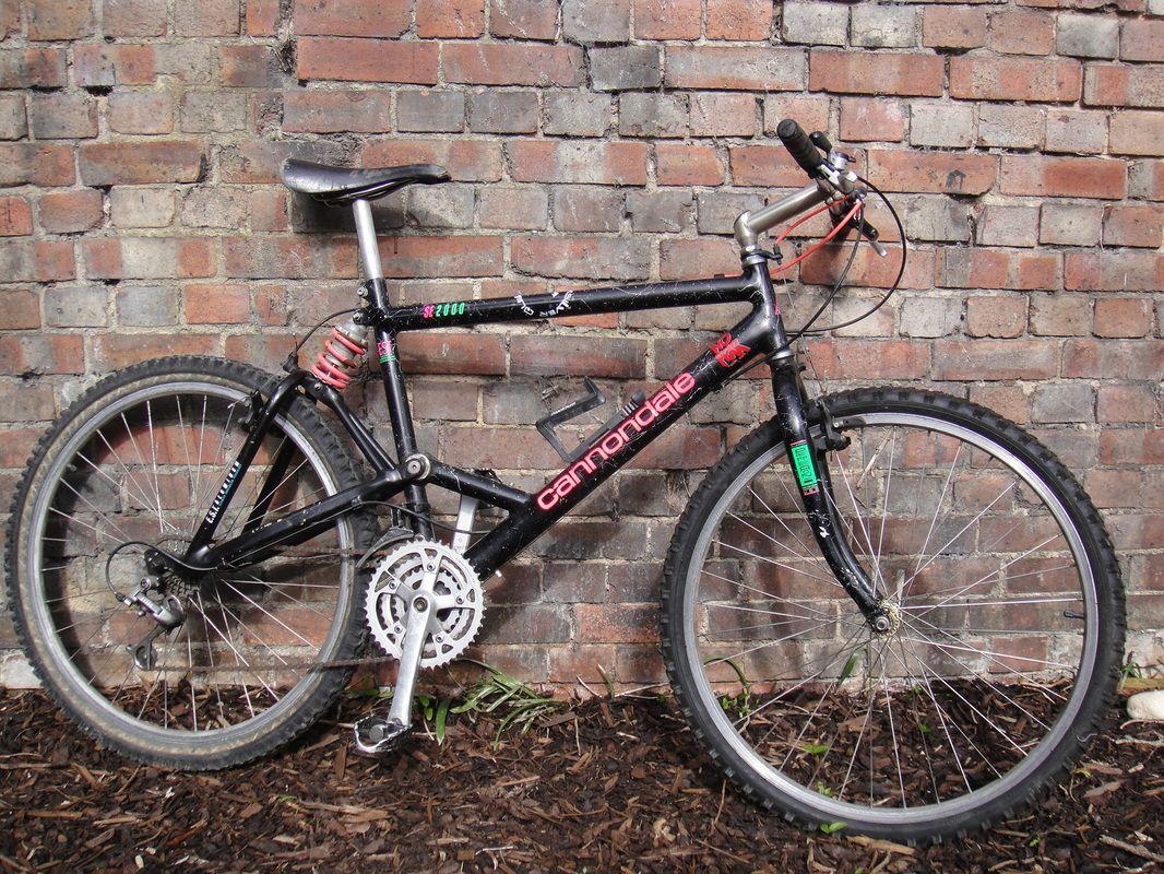 vintage cannondale se2000 full suspension mountain bike bikes pinterest full suspension. Black Bedroom Furniture Sets. Home Design Ideas