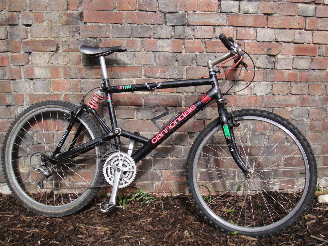 Vintage Cannondale Se2000 Full Suspension Mountain Bike Lets Go