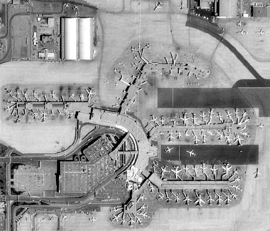 Denver Stapleton International Airport 1980's