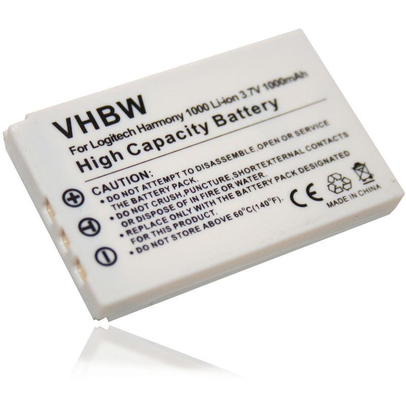 Batterie LI-ION pour LOGITECH Harmony 915//1000 1100i i 1100